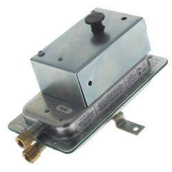 "24 VAC Man. Reset DPDT Air Pressure Switch<br>(.4""-12.0"" W.C.) Product Image"