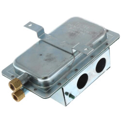 """120 VAC Dual Man. Reset SPST Air Pressure Switch<br>(1.25""""-12.0"""" W.C.) Product Image"""