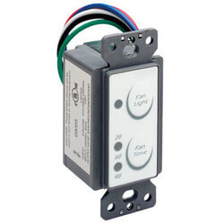 AKEDT2 Exhaust Fan Control Switch w/ Delay Timer Switch Product Image