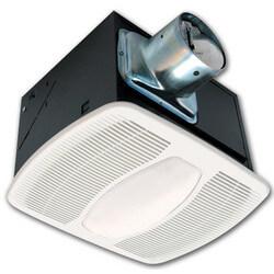 """LEDAK100D Deluxe Quiet Energy Star Fan/LED Light Dual Speed 4"""" (100/50 CFM) Product Image"""