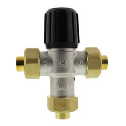 "1/2"" Sweat Union Mixing Valve (Heating Only) Product Image"