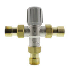 "1"" Sweat Union Mixing<br>Valve (Lead Free) Product Image"