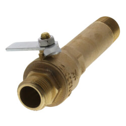 Brass Drain Valve (Full Flow) Product Image