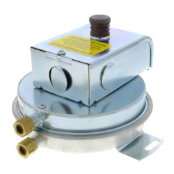 """SPST Air Pressure Switch<br>(.30 To 12.0"""" W.C) Product Image"""