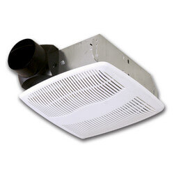 """AS50 50 CFM Ceiling Exhaust Fan w/ 3"""" Duct Product Image"""
