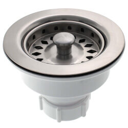 Brushed Stainless Basket Strainer Product Image