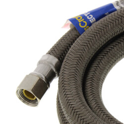 "60"" Speedi Plumb Braided Dishwasher Connector (3/8"" x 3/8"" Compression) Product Image"