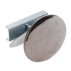 """2"""" OD Sink Hole Cover w/ Washer (Chrome) Product Image"""