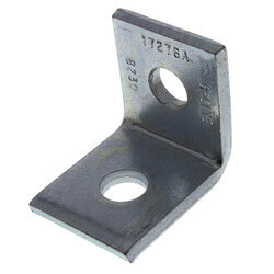 Two Hole Corner Angle Fitting (Zinc) Product Image
