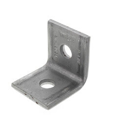 "Plain Side Beam Angle Clip (9/16"" Hole) Product Image"