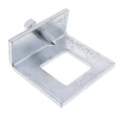 "5/8"" Max Flange Zinc Beam Clamp (For 1-5/8"" Channel) Product Image"