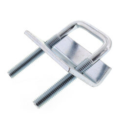 "3/4"" Max Flange Zinc Beam Clamp (For 13/16"" to 1-5/8"" Channel) Product Image"