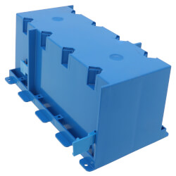 71 Cubic Inch 4-Gang Old Work Non-Metallic Outlet Box Product Image