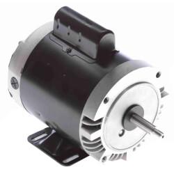 "Capacitor Start NEMA ""C"" Face Rigid Base Motor, 1/3 HP, 3450 RPM (115/230V) Product Image"