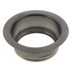 """3-1/2"""" Garbage Disposal Flange (Stainless Steel) Product Image"""