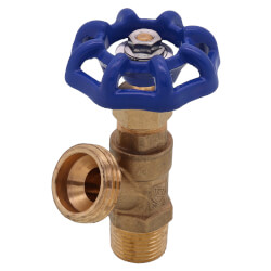 """1/2"""" MPT Boiler Drain<br>Male Threaded (Lead Free) Product Image"""