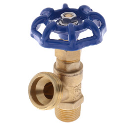 """1/2"""" MPT Boiler Drain, Male Threaded Product Image"""