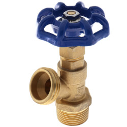"3/4"" MPT Boiler Drain, Male Threaded Product Image"