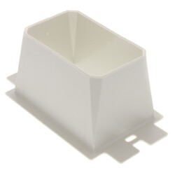 1-Gang Electrical Outlet Box Extender (White) Product Image