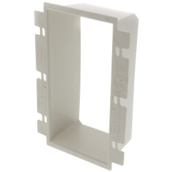 3- Gang Electrical Outlet Box Extender (White) Product Image