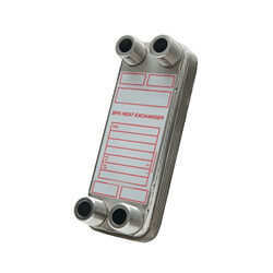 350,000 BTU/Hr Low Pressure BPX Brazed Plate Heat Exchanger Product Image
