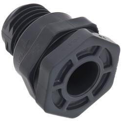 "3/4"" PVC Bulkhead Fitting w/ EPDM Gasket (Socket x Thread) Product Image"