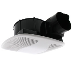 """BFQ80 Quiet Exhaust Fan w/ 4"""" Duct (80 CFM) Product Image"""