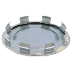 """1-1/4"""" Steel-Zinc Plated Snap-In Blank Product Image"""