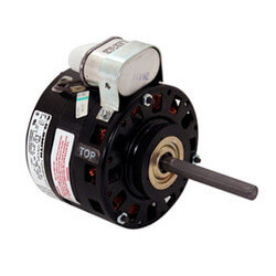 "5"" 3-Speed Fan/Blower Motor (115V, 1075 RPM, 1/8, 1/10, 1/15, 1/20 HP) Product Image"