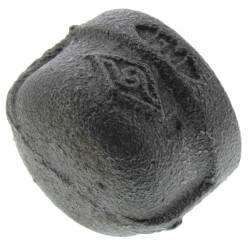 """3/4"""" Black Cap Product Image"""