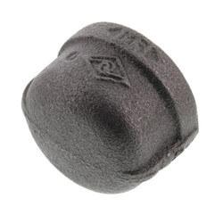 """1"""" Black Cap Product Image"""