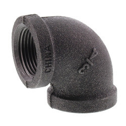 "3/4"" Black 90° Elbow Product Image"