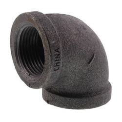 "1"" Black 90° Elbow Product Image"
