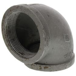 "3"" Black 90° Elbow Product Image"