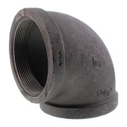 "4"" Black 90° Elbow Product Image"
