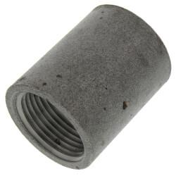 "3/4"" Black Steel Merchant Coupling Product Image"