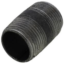 """3/4"""" x 1-1/2"""" Black Nipple Product Image"""