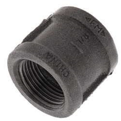 "1"" Black Malleable Iron Right & Left Coupling Product Image"