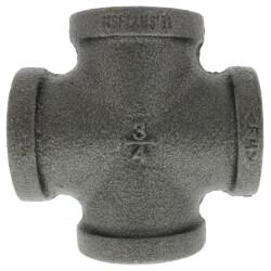 "3/4"" Black Cross Product Image"