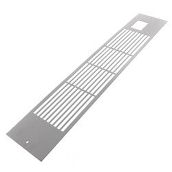 White Slotted Grille<br>for K84 Product Image
