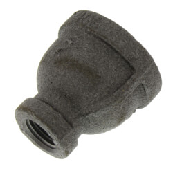 "3/4"" x 1/4""<br>Black Reducing Coupling Product Image"