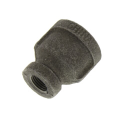 "3/8"" x 1/8""<br>Black Reducing Coupling Product Image"