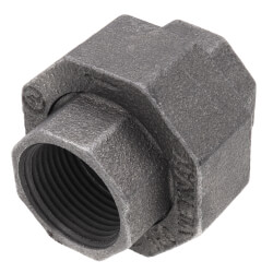 """1"""" Black Union Product Image"""