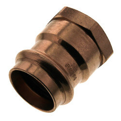 "1"" Press x Female Copper Adapter Product Image"