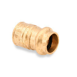 """1/2"""" FTG Press x 3/4"""" Male Copper Street Adapter Product Image"""