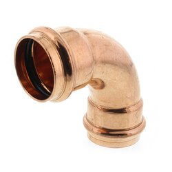 "1-1/4"" Press Copper 90° Elbow Product Image"