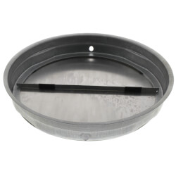 """7"""" Round Damper with Foam for Range Hoods Product Image"""