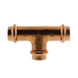 "1/2"" Press Copper Tee Product Image"
