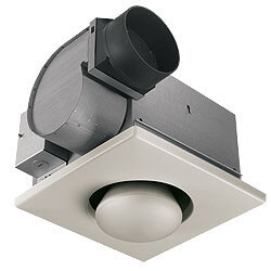 162 Single 250W Bulb Heater w/ 70 CFM Exhaust Fan (Type IC) Product Image
