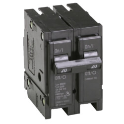 2-Pole BR Thermal Magnetic Circuit Breaker (20A, 120/240V) Product Image